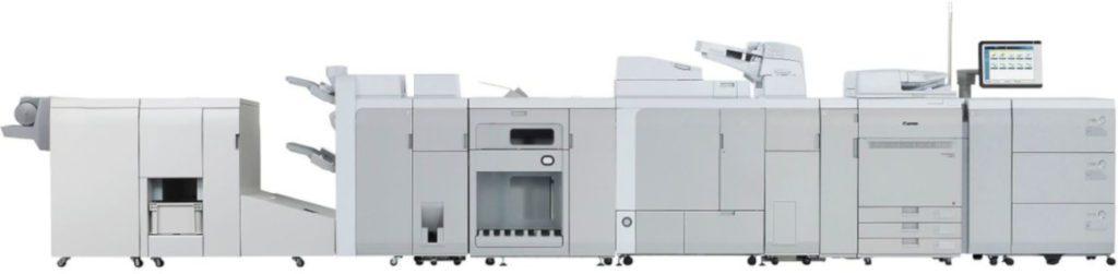 imagePRESS C910 Serie konfigurationsbeispiele