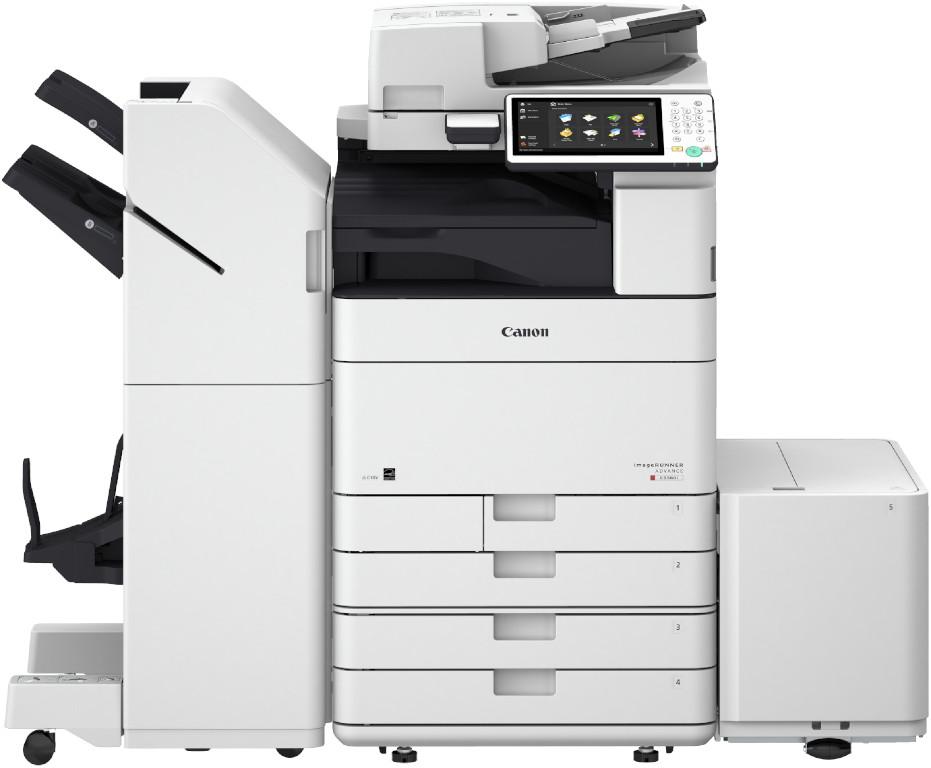 imageRUNNER ADVANCED C5560i mit Kassettenbank AM1 und Broschuerenfinisher