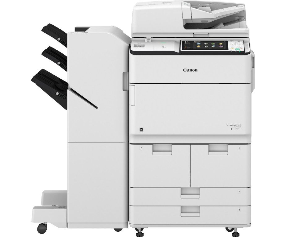 imageRUNNER ADVANCED 6565i mit Heftfinisher